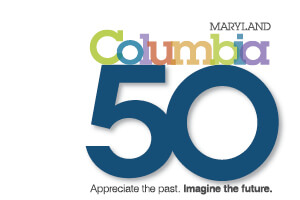 Columbia's 50th birthday banner rotator