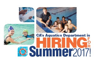Aquatics is hiring rotating banner