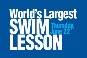 Worlds Largest Swim Lesson Banner Image