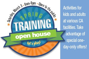 Spring Training Open House Banner