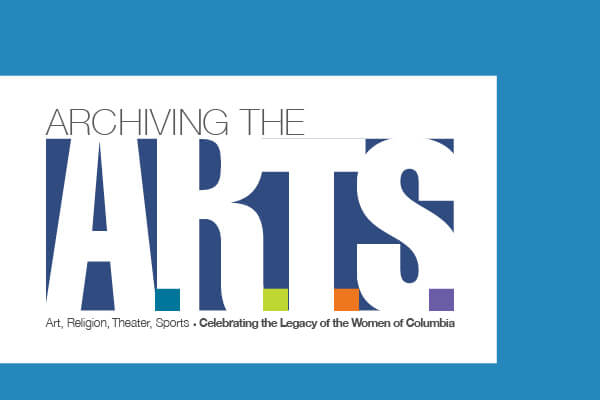 Archiving the Arts Header Banner