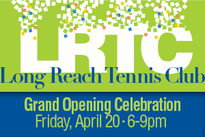 banner with long reach grand opening