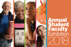 annual student exhibition event banner
