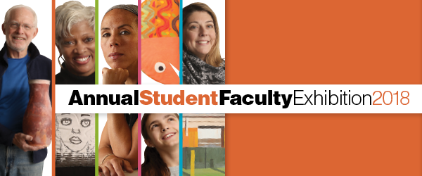 Student Faculty Exhibition Banner